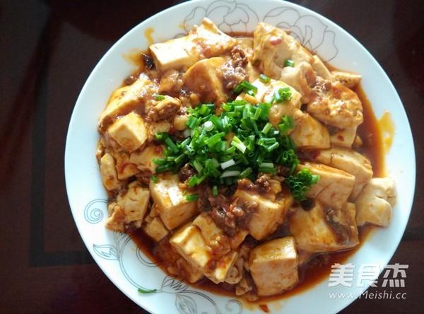 麻婆豆腐成品圖