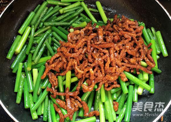 蒜苔炒肉丝怎么煮
