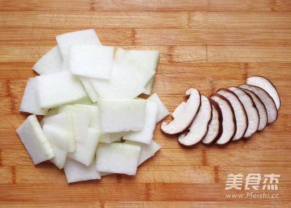 冬瓜香菇汤的做法图解