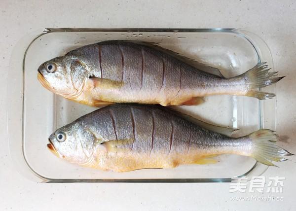 红烧黄花鱼的步骤