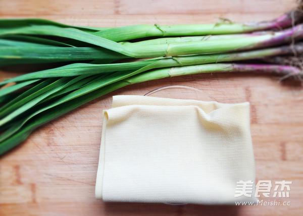 蒜苗炒豆腐皮的做法大全