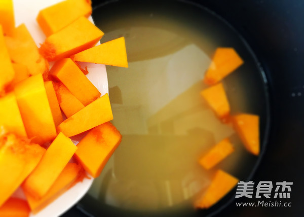 小米南瓜粥怎么做