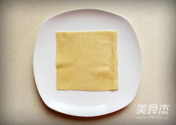豆皮香包的做法图解