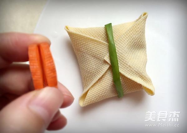 豆皮香包的简单做法