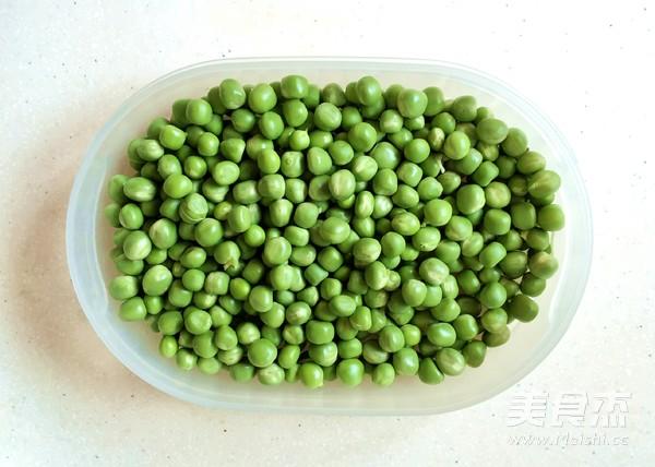 清炒豌豆的做法图解