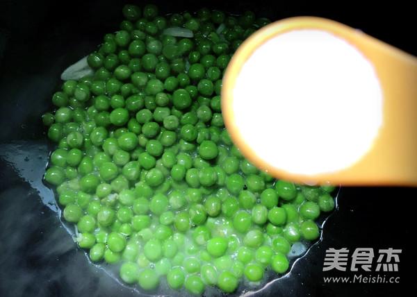 清炒豌豆怎么炒