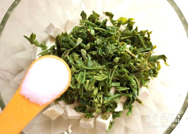 香椿拌豆腐怎么炒