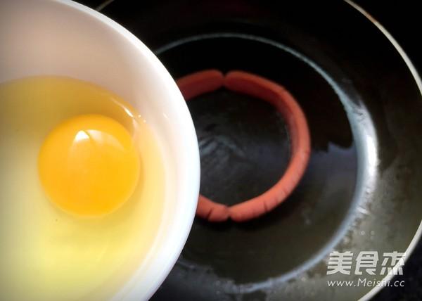 香肠鸡蛋堡怎么做