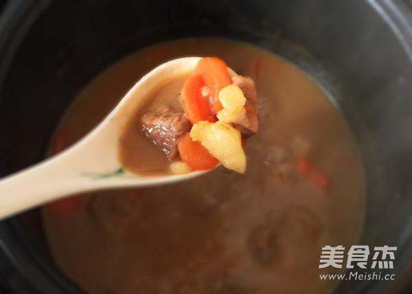 咖喱土豆炖牛肉怎样煸