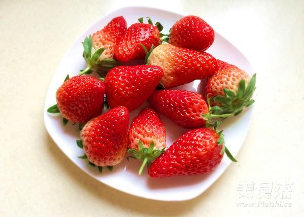草莓蛋挞的做法大全