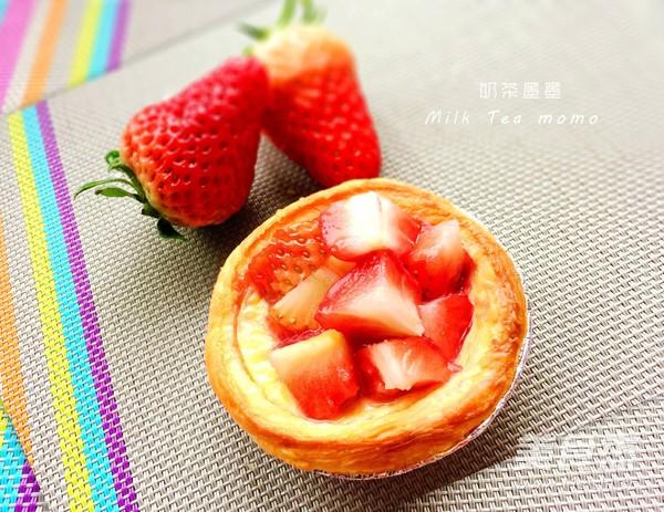 草莓蛋挞怎么煸