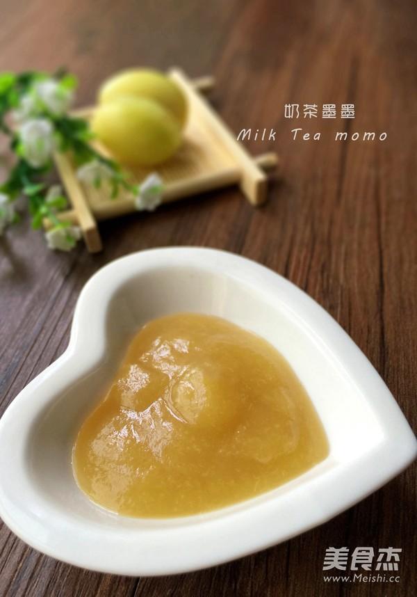 新疆小白杏果酱成品图