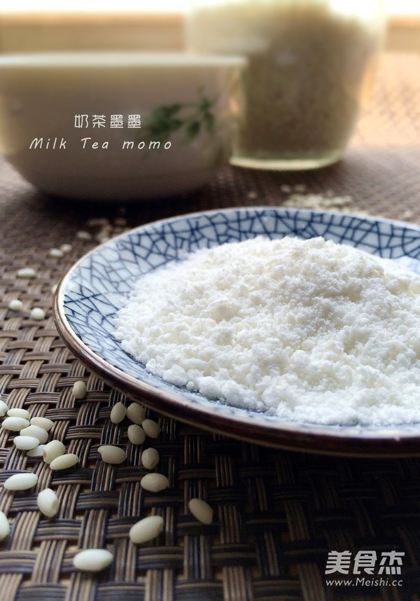 自制糯米粉成品图