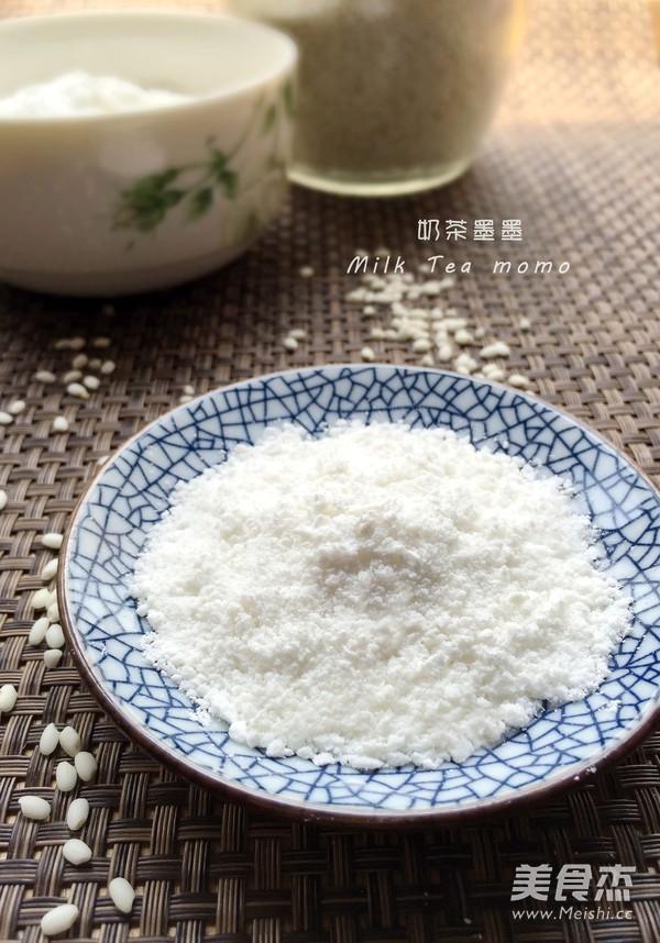 自制糯米粉成品圖