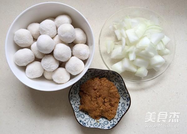 咖喱鱼丸的做法大全