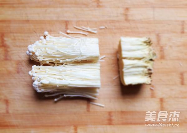 金针菇培根卷的做法图解