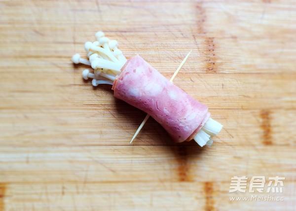 金针菇培根卷怎么做
