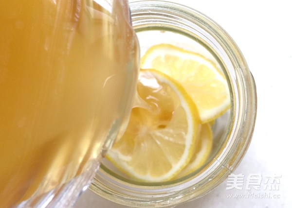 柠檬蜂蜜水怎么做