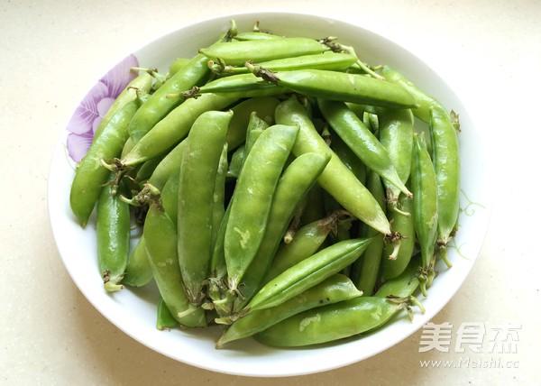 清炒豌豆的做法大全