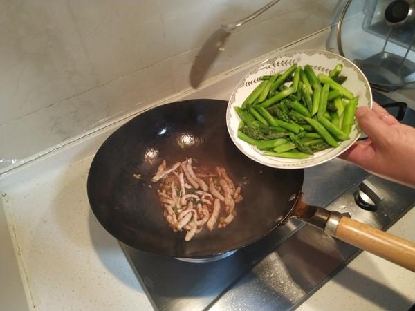 笋尖肉丝的简单做法