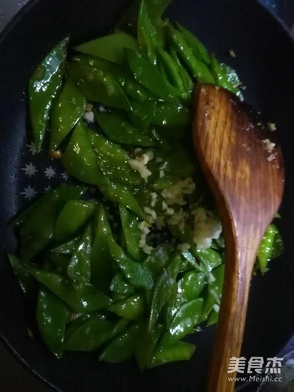 蒜蓉荷兰豆怎么吃
