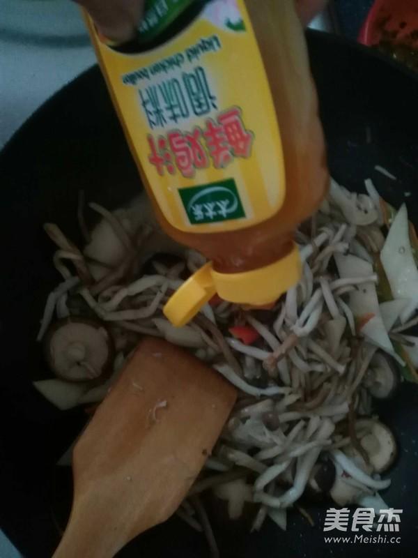 干煸什锦菌菇怎么吃
