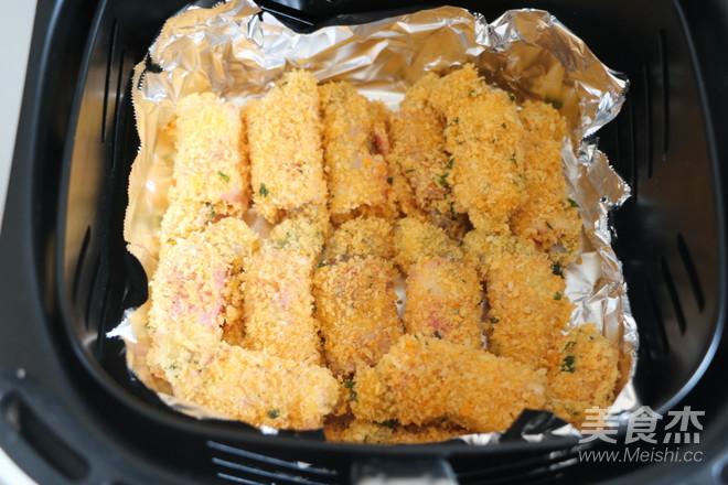 培根虾卷怎么炒