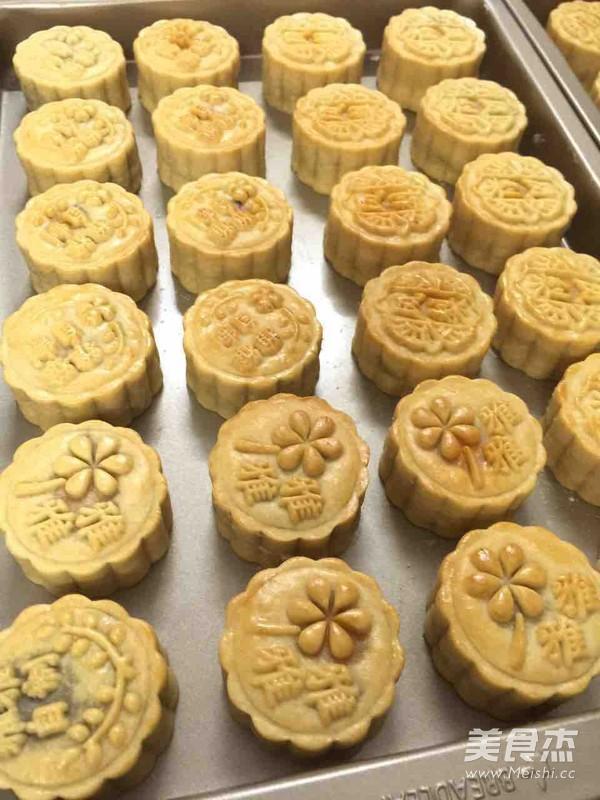 广式月饼的制作方法