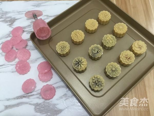 颜值广式月饼的制作方法