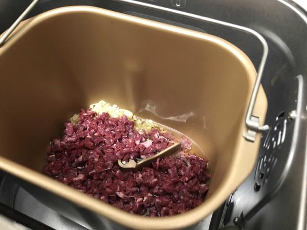 牛肉意面酱(面包机版)的家常做法
