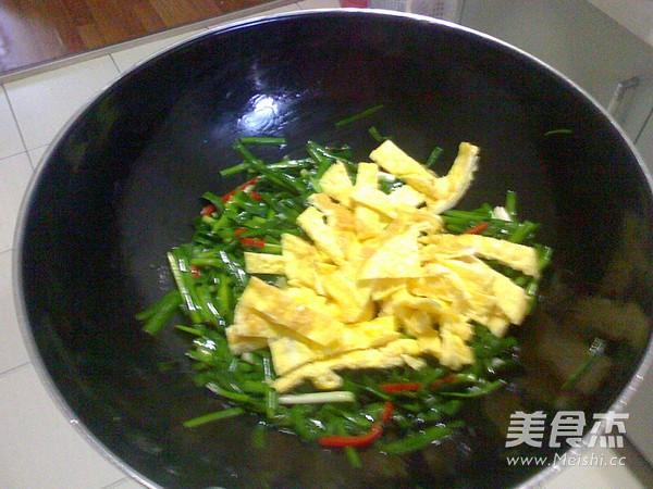 韭菜炒鸡蛋怎么做