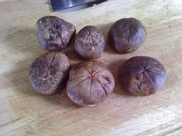 香菇油菜心的家常做法