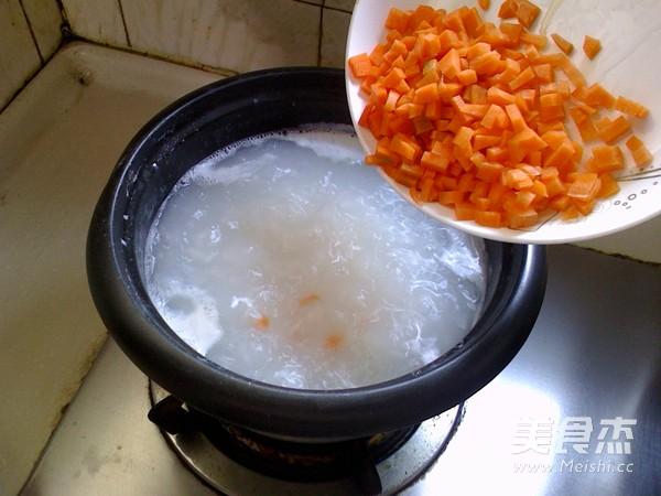 胡萝卜牛肉粥怎么吃