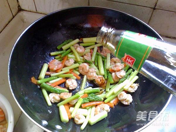 芦笋炒虾仁怎么煮