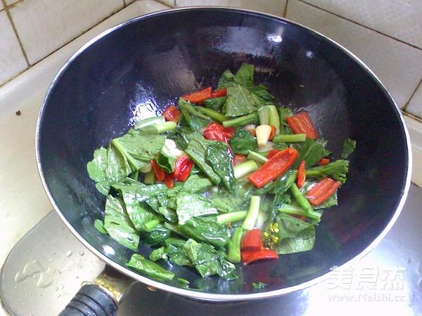 香菇油菜心怎么吃