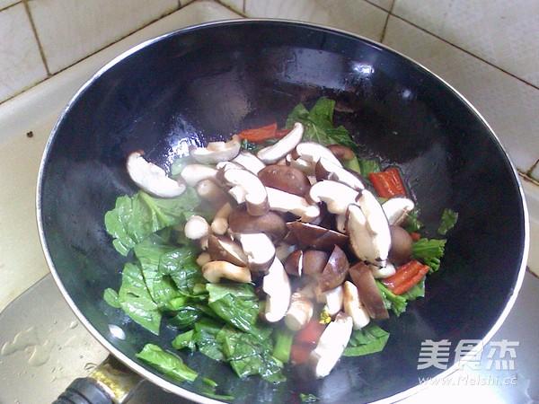香菇油菜心怎么做
