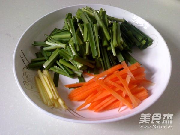 素炒韭菜黄豆芽的做法图解