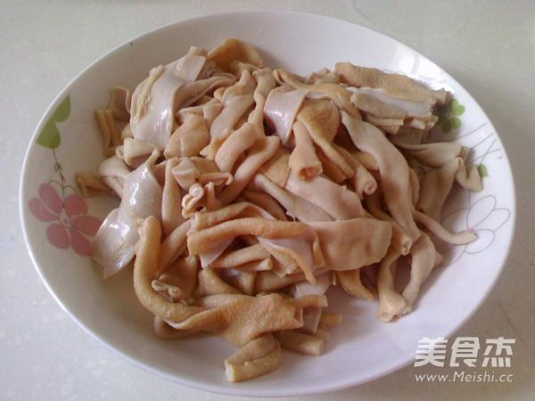 鸭肠炒黄豆芽的做法大全