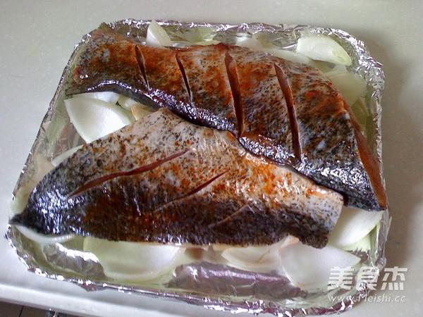 时蔬烤鱼怎么吃