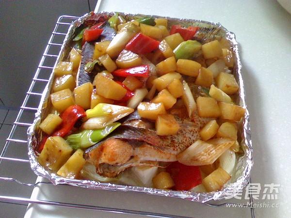 时蔬烤鱼怎么炖