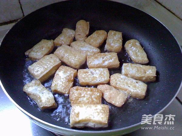 香菇烧豆腐的家常做法