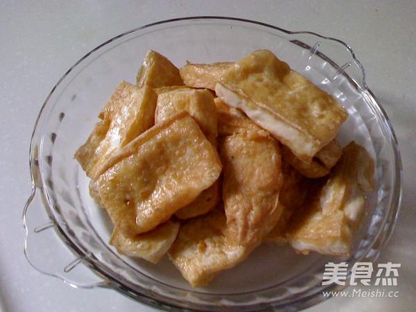 香菇烧豆腐的简单做法