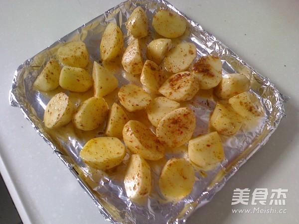 烤小土豆的简单做法