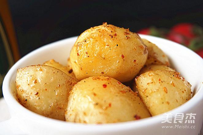 烤小土豆怎么做