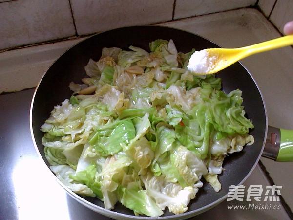 糖醋圆白菜怎么做