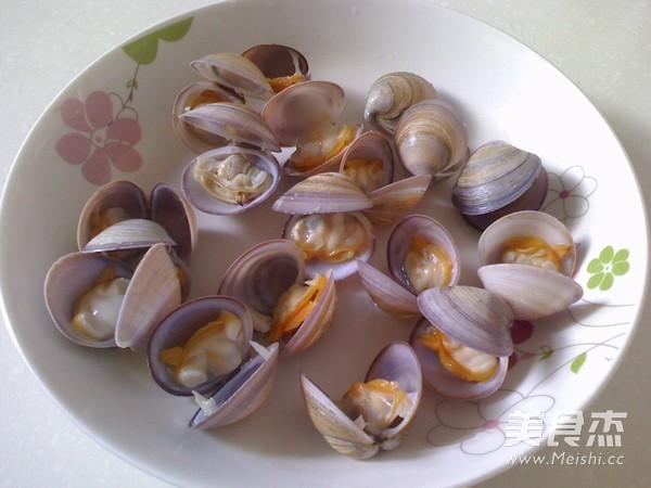 蛤蜊蒸蛋羹的做法图解