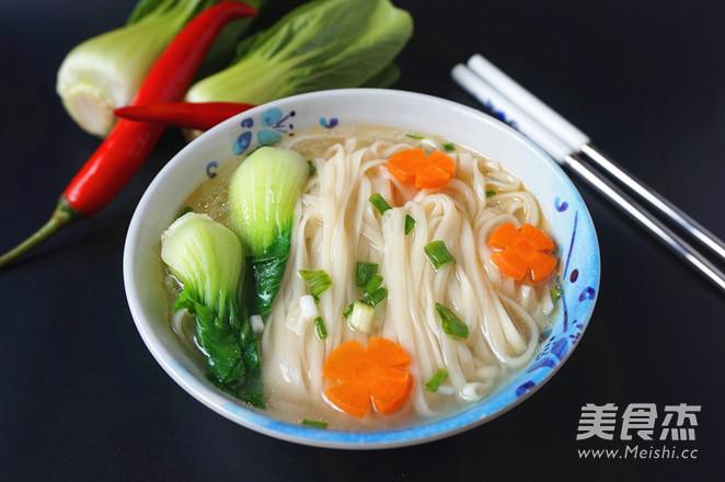 清汤面怎么吃