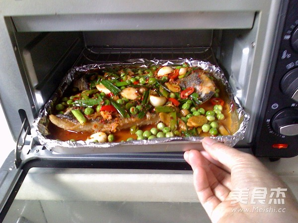 香辣烤鱼的步骤