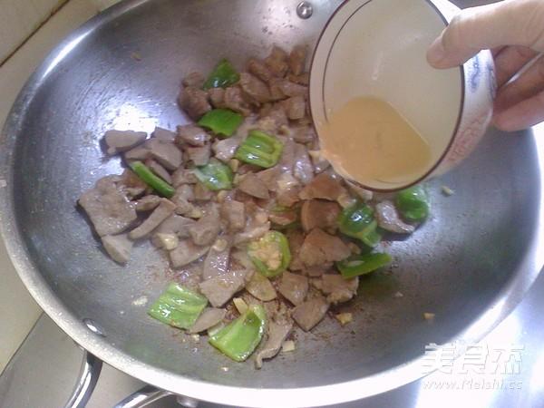 青椒炒猪肝怎么煮
