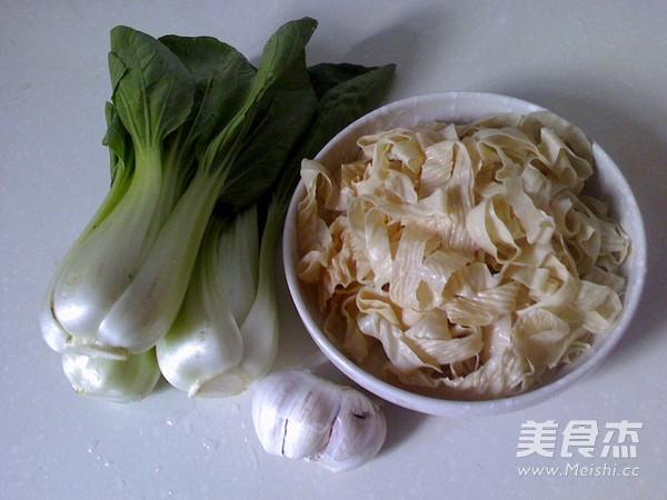 豆皮炒青菜的做法大全